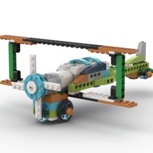 Биплан Lego Wedo 2.0
