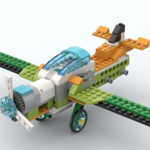 Бомбардировщик Lego Wedo 2.0